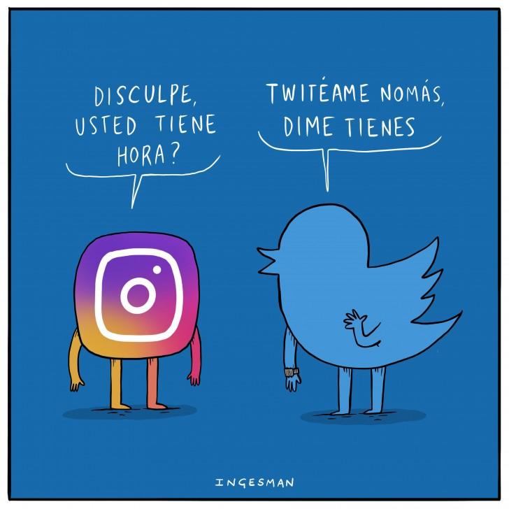twitter, redes sociales, rrss, instagram, redes, ingesman, humor, chiste, tutear, tuteame, facebook, whatsapp.
