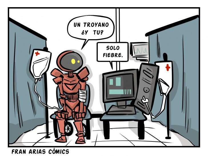 Tecnología, informática, robots, computadoras.