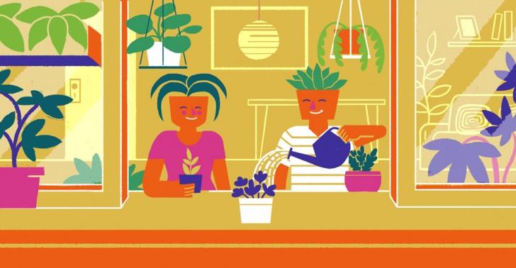 millenials, plantas, beneficios, vegetación, datos