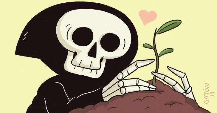 compostaje humano, entierro, cremación, descomposición, muerte