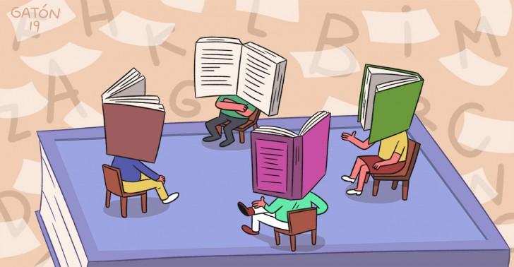 Resultado de imagen de hablar de libros