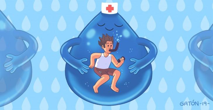 hidroterapia, salud, tratamiento, lesiones, enfermedades