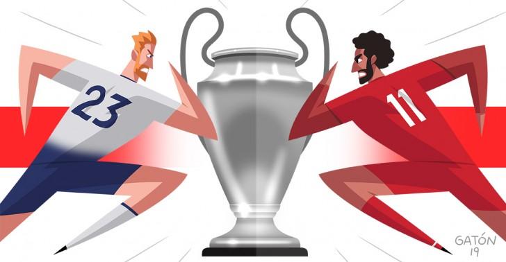 Liga de Campeones, Champions League, Tottenham, Liverpool, Madrid 2019, Inglaterra