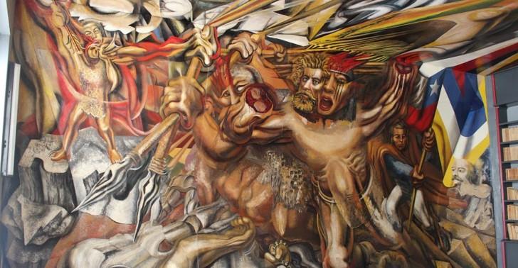 muralismo, aztecas, cultura