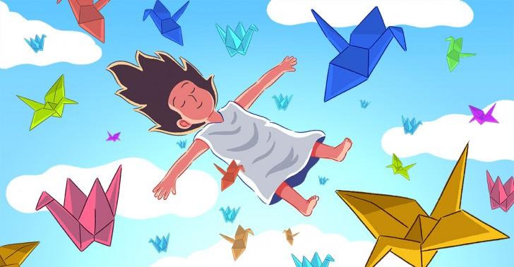 japón, hiroshima, tradición, grullas, papel, origami, bomba atómica
