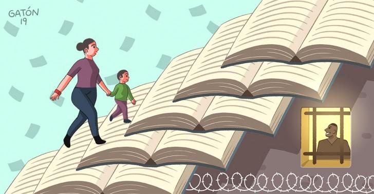 internos, privados de libertad, reinserción social, libertad para leer, lectura, prisión, cárcel