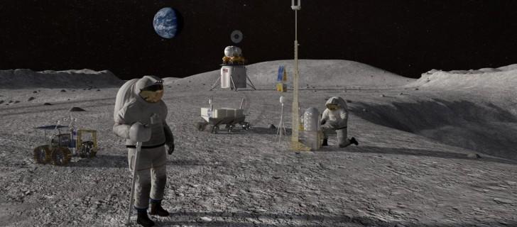 luna, exploración espacial, nasa, estados unidos, trump