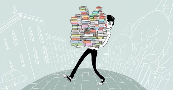 basura, desechos, reciclaje, libros, biblioteca, turquía